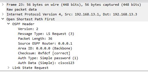 OSPF-LSR-Packet